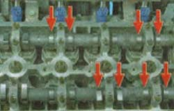 как регулировать клапана на киа рио 2011 1.4